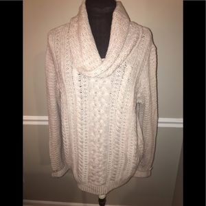 NWT Christopher & Banks women's sweater L